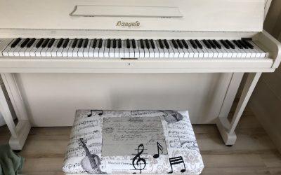 Snygg pianostol!