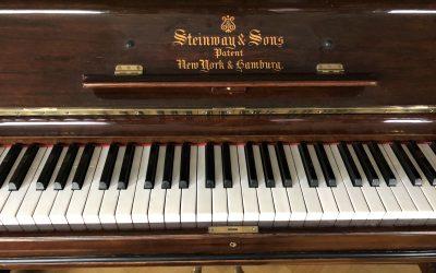Finaste Steinway pianot!