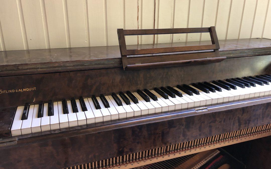 Pianostämningar!